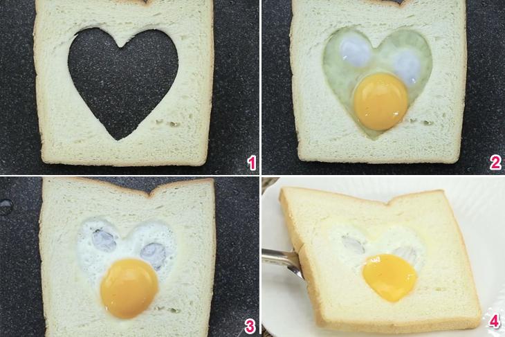 Một số mẹo trang trí món ăn ngày Valentine
