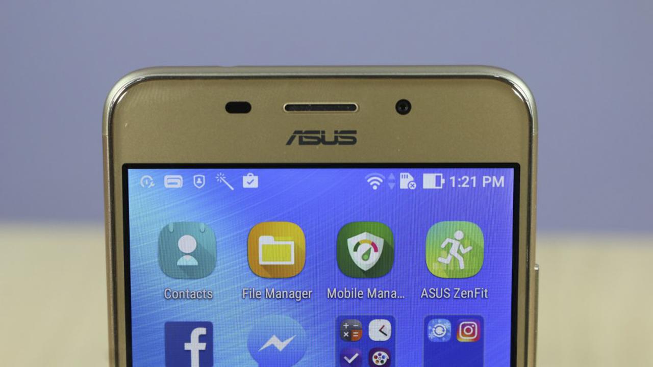 camera selfie Asus Zenfone 3s Max