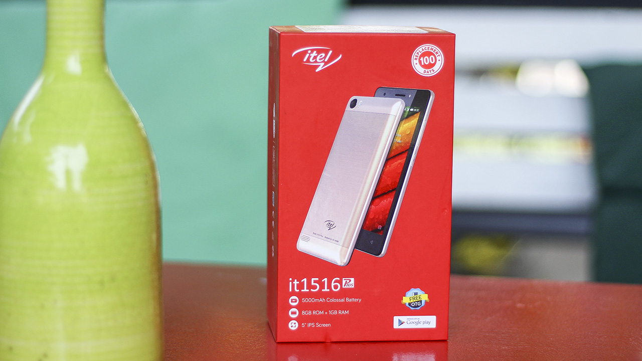 Trên tay iTel it1516 Plus và it1580 Plus pin khủng, giá rẻ