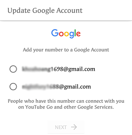đăng nhập tài khoản Google trên điện thoại