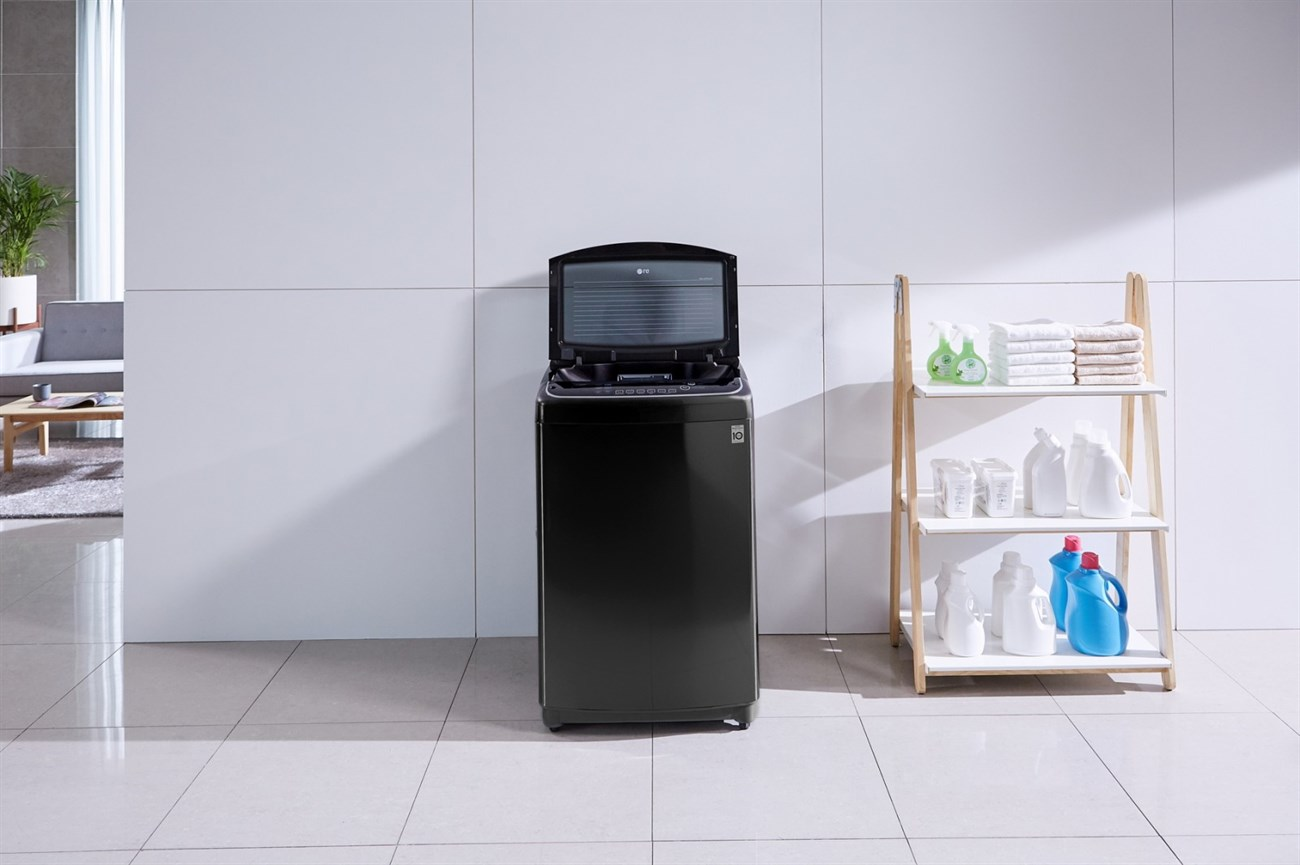 Máy giặt lồng đứng phù hợp không gian nhỏ gọn