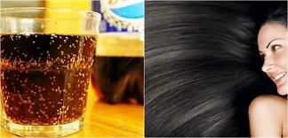 Gội đầu với nước ngọt có ga cho tóc khỏe mượt hơn