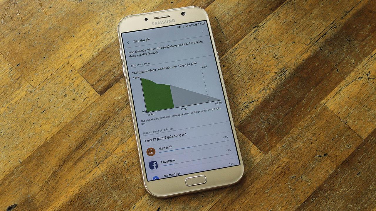 đánh giá chi tiết Galaxy A7 2017