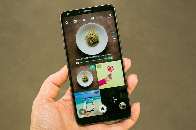 LG G6 chia màn hình
