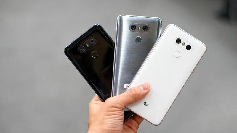 LG G6 màu sắc