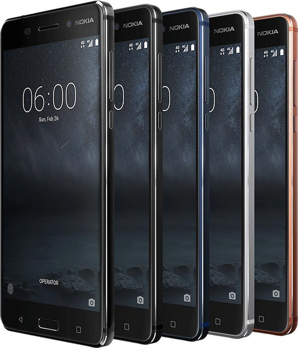 Nokia trở lại với 3 smartphone Android: Nokia 6, Nokia 5
