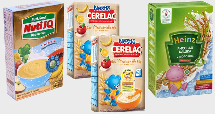 Nên chọn bột có độ mịn cao và vị gần với sữa mẹ cho bé tập ăn dặm