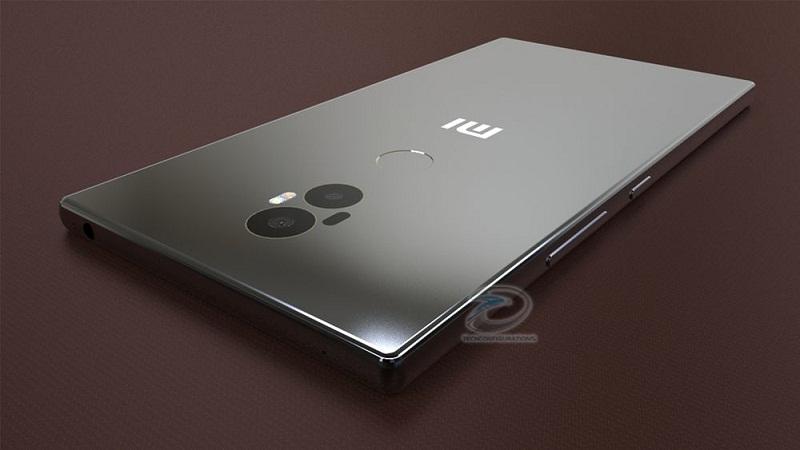Concept Xiaomi Mi Mix 2 a