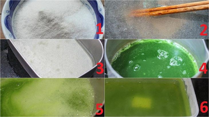 Cách làm thạch rau câu hai tầng từ bột rau câu con cá dẻo