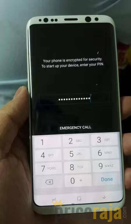 Galaxy S8 Màu Trắng Lộ ảnh Thực Tế đang Hoạt động