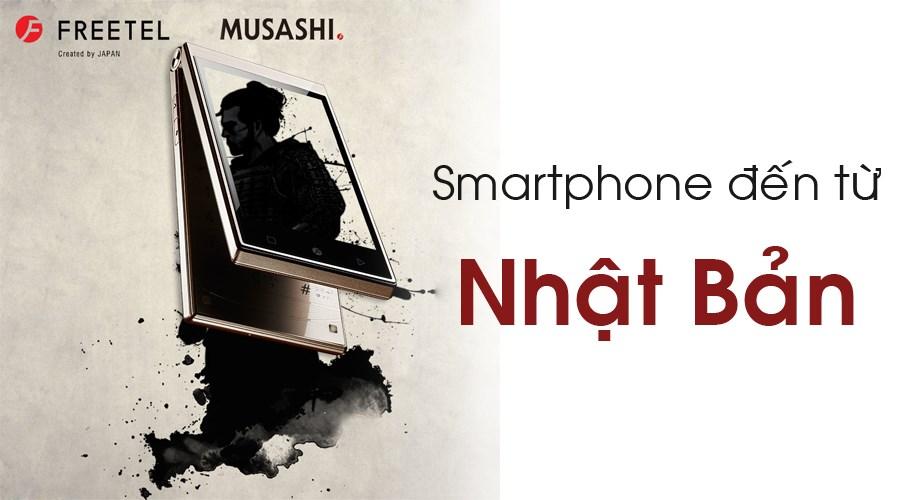 Mua điện thoại Nhật FREETEL, nhận quà hấp dẫn