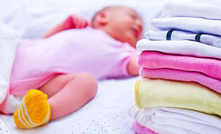 Nên dùng nước xả vải khi nhà có trẻ em
