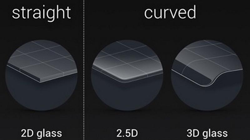 sự khác nhau giữa màn hình cong 2,5d và 3d