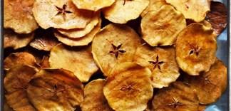 Snack táo giòn lạ và chất bạn đã thử?