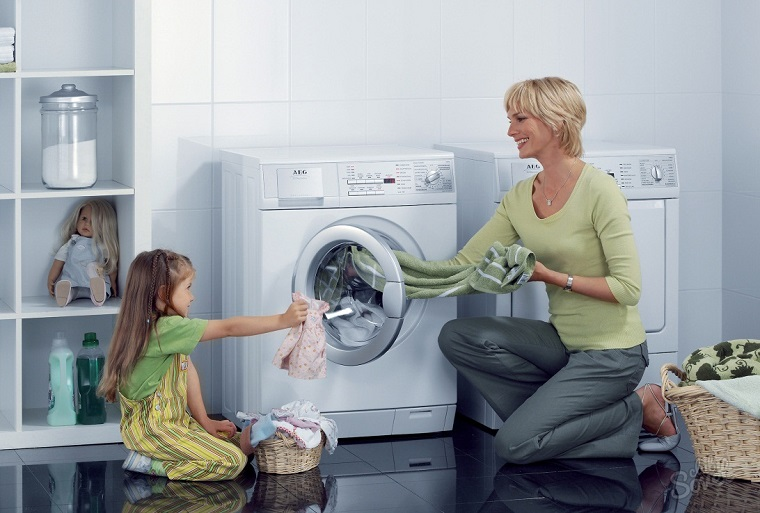 Máy giặt thường