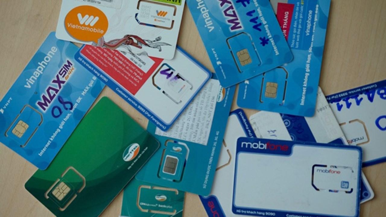 Nhà mạng sắp mở tiếp chiến dịch thu hồi SIM kích hoạt sẵn