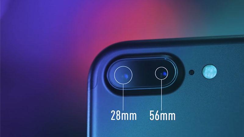 iPhone 7 Plus là một trong những smartphone nổi bật sở hữu công nghệ 2 camera
