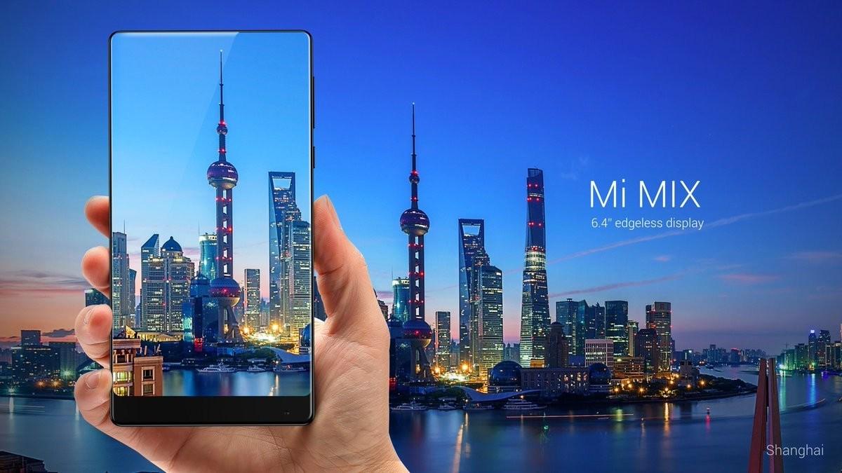 Xuất hiện mẫu Mi MIX 2 siêu quyến rũ, màn hình chiếm 93%, camera kép