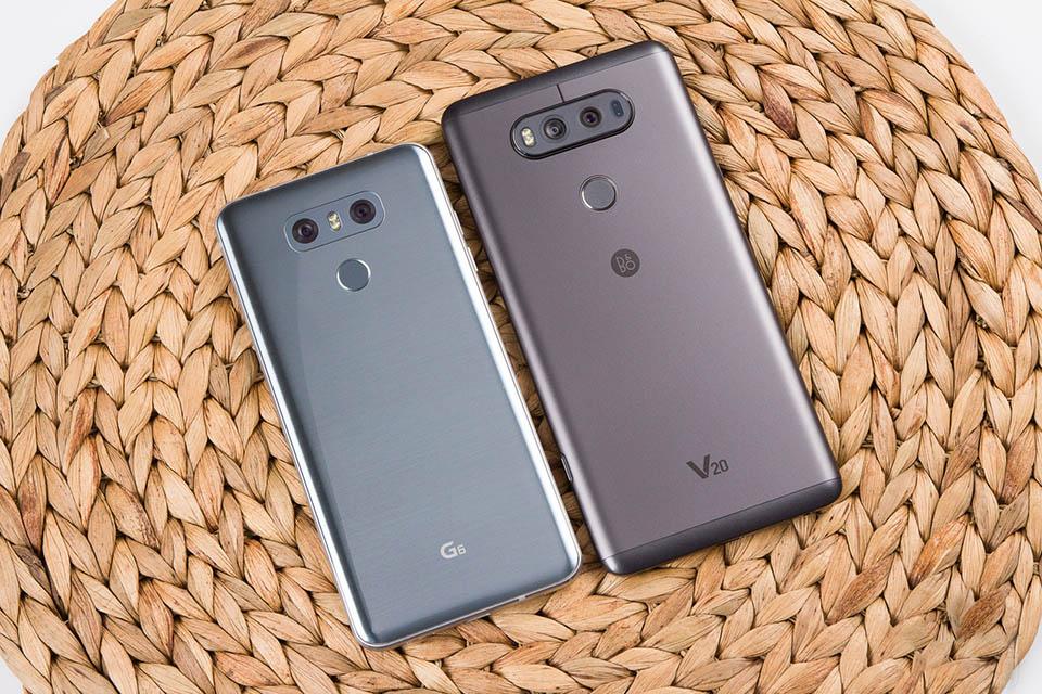 So sánh LG G6 đối đầu LG V20: Gà cùng một mẹ, đá hoài mới vui - ảnh 1