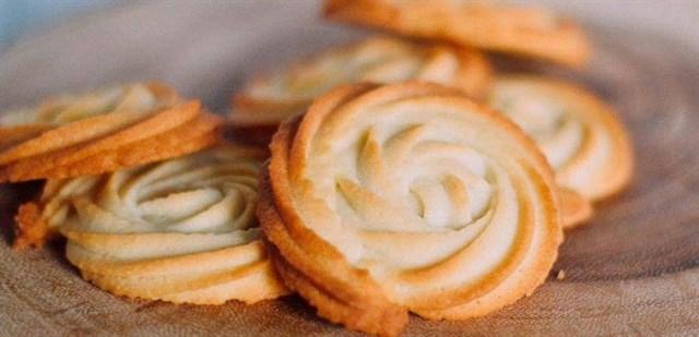 Cách làm bánh quy bơ ngon như Danisa