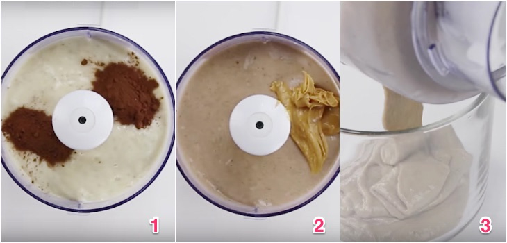 Cách làm kem chuối máy xay sinh tố