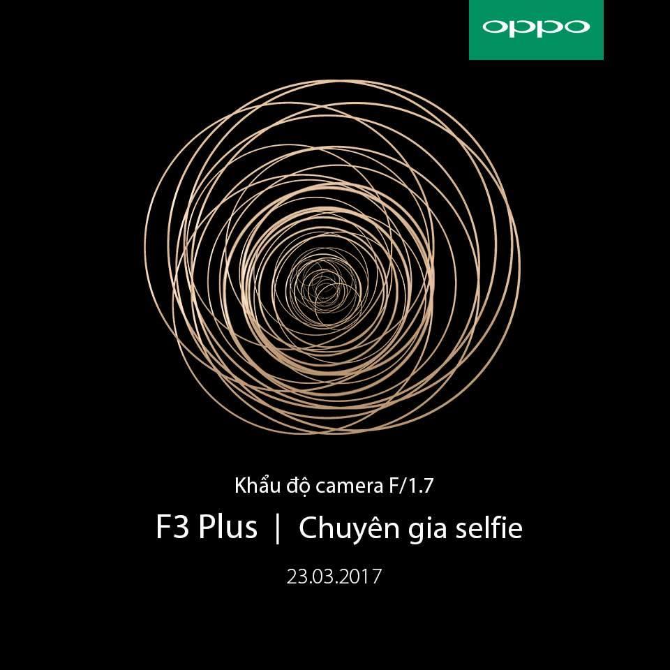 OPPO xác nhận F3 Plus sẽ có camera kép kèm Dual PDAF Focusing