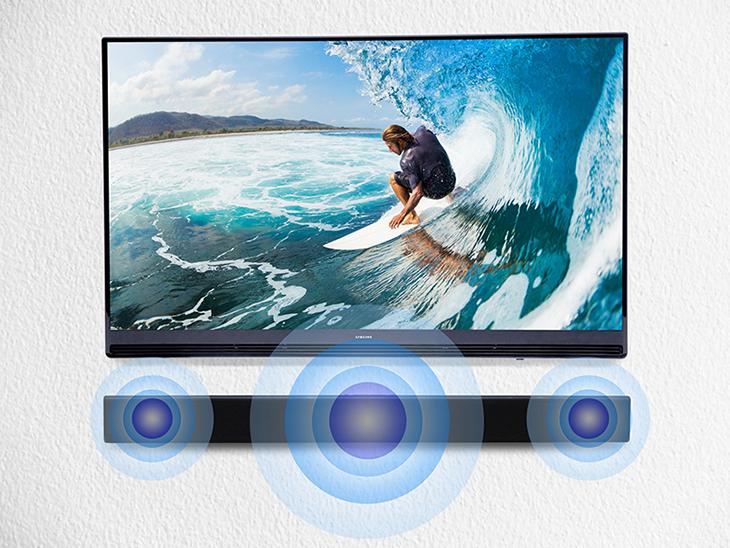 Loa Soundbar 2.2 Samsung HW-J250/XV - Âm thanh ấn tượng