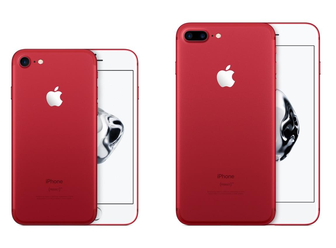 iPhone 7 và 7 Plus màu đỏ