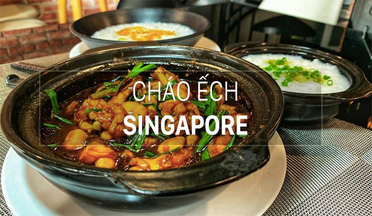 Bí quyết nấu cháo ếch Singapore thơm ngon đậm đà