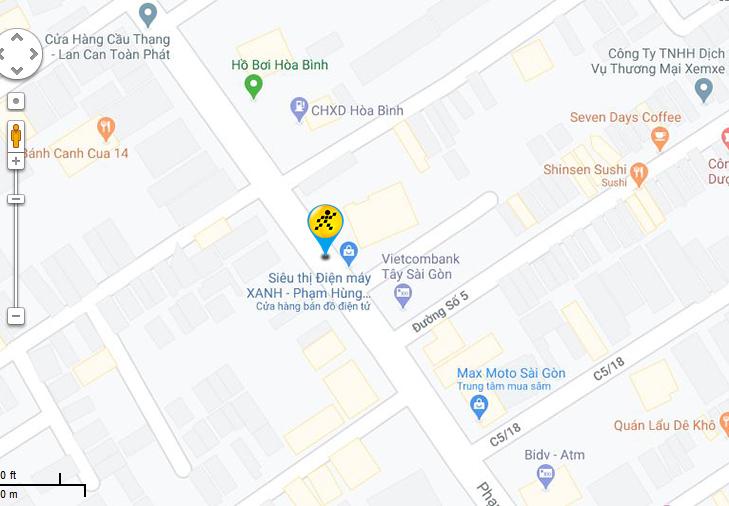Bản đồ đến siêu thị Điện máy XANH tại C5/13B Phạm Hùng , Ấp 4, Xã Bình Hưng , Huyện Bình Chánh, TP. HCM