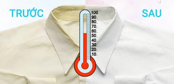 Giặt nước nóng mang lại lợi ích gì?