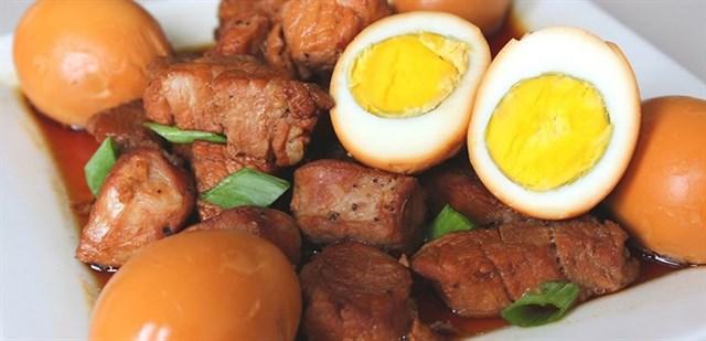 Cách làm thịt kho trứng ngon tuyệt