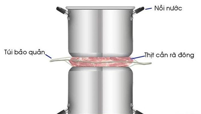 Cách rã đông và bảo quản thịt đúng cách