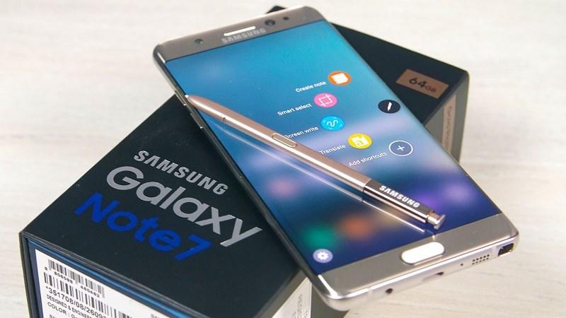 Đây là thông tin về việc bán Galaxy Note 7 tân trang tại Việt Nam