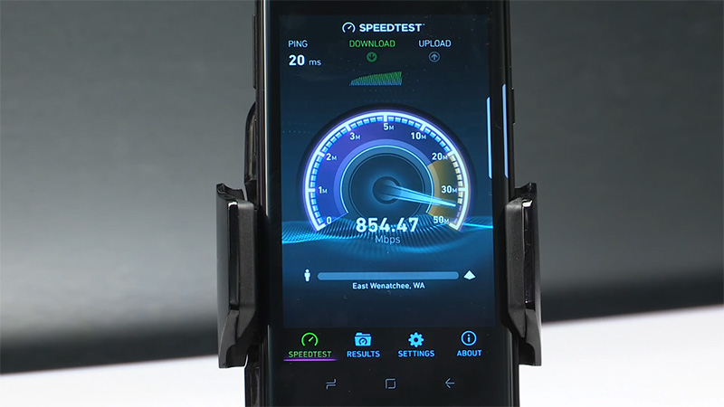 Bộ đôi Galaxy S8 có thể đạt tốc độ mang cao ngất ngưỡng