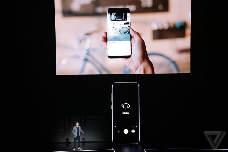 Tra�? lA? a??o Bixby trA?n Galaxy S8, S8 Plus cA? tha�? lA�m A�?�a�?c gA�?