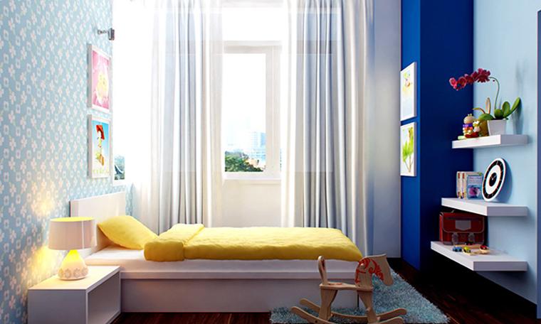Phòng ngủ dùng sáp thơm phải sạch và thông thoáng