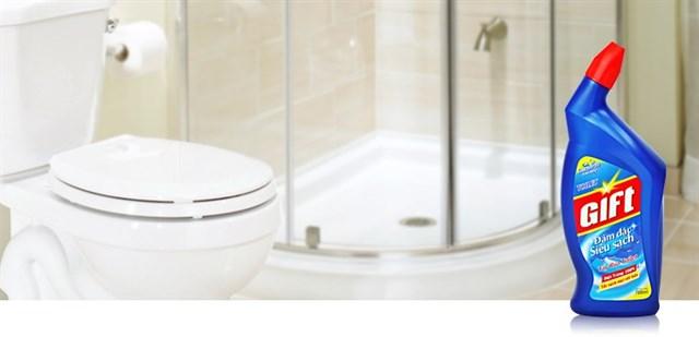 Lý do nên dùng nước tẩy bồn cầu để vệ sinh toilet