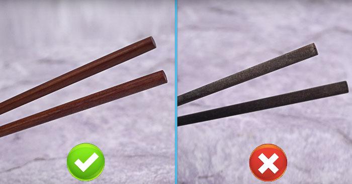 Cách bảo quản đũa như thế nào để không bị mốc