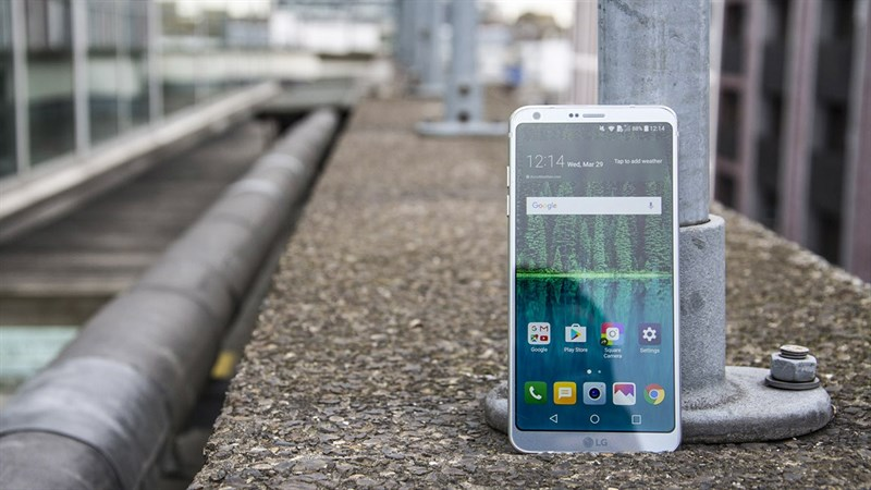 LG G6 là một trong những chiếc điện thoại sở hữu màn 2K