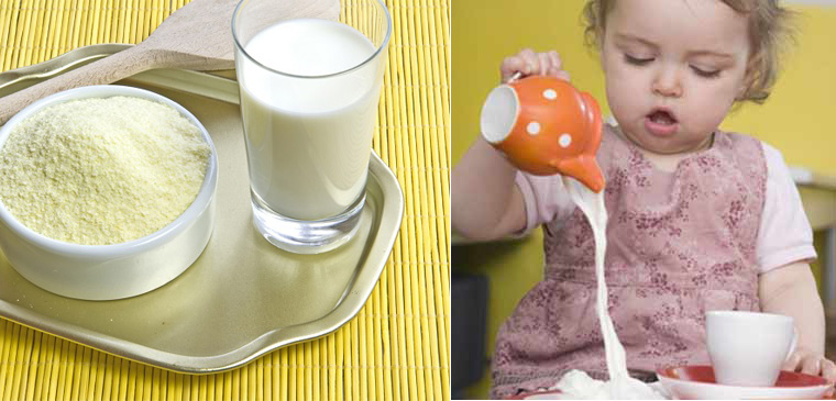 Kết quả hình ảnh cho pha sữa bột