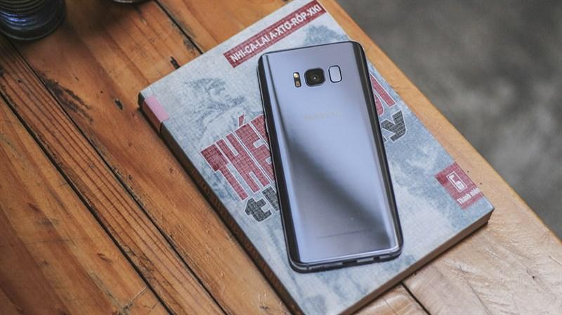 Đánh giá điện thoại Samsung Galaxy S8