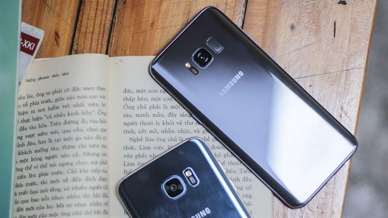 Trên tay nhanh Galaxy S8