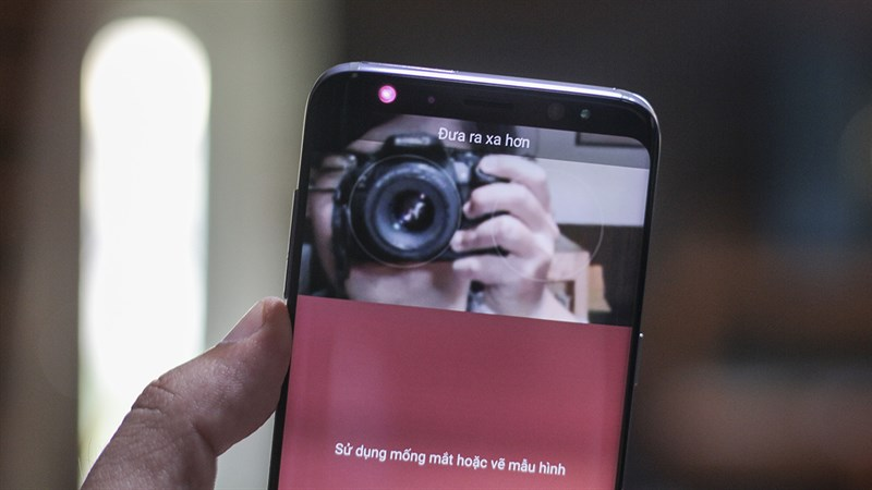 Camera trên điện thoại Samsung Galaxy S8