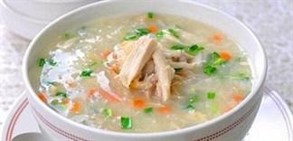 Cách nấu cháo thịt gà cà rốt bổ dưỡng cho bé yêu tại nhà