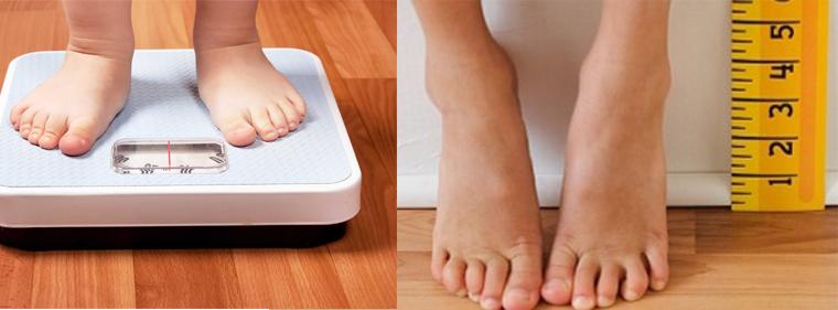 Bé cần giảm cân nhưng vẫn cần dinh dưỡng giúp tăng trưởng chiều cao