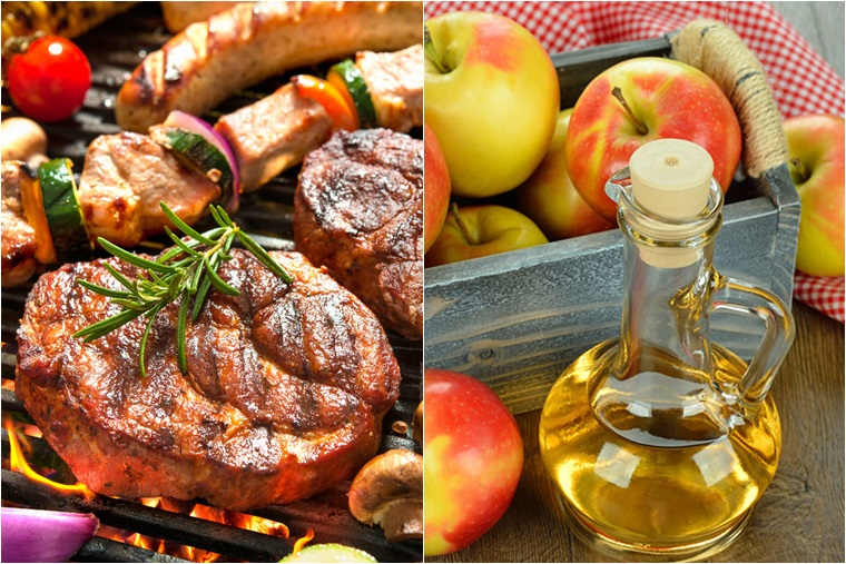 Công dụng của giấm táo trong việc nấu nướng