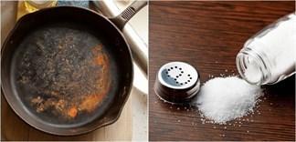 Mẹo đánh bay vết rỉ sét trên đồ dùng với giấm và muối ăn
