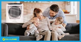 Những lưu ý khi sử dụng quạt điều hòa cho nhà có trẻ nhỏ