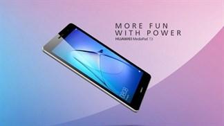 Huawei tung ra bộ đôi máy tính bảng MediaPad T3 với giá hấp dẫn